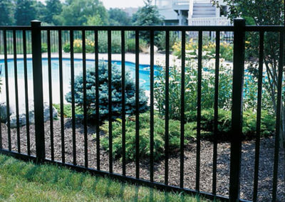 2 Rail Ornamental Iron