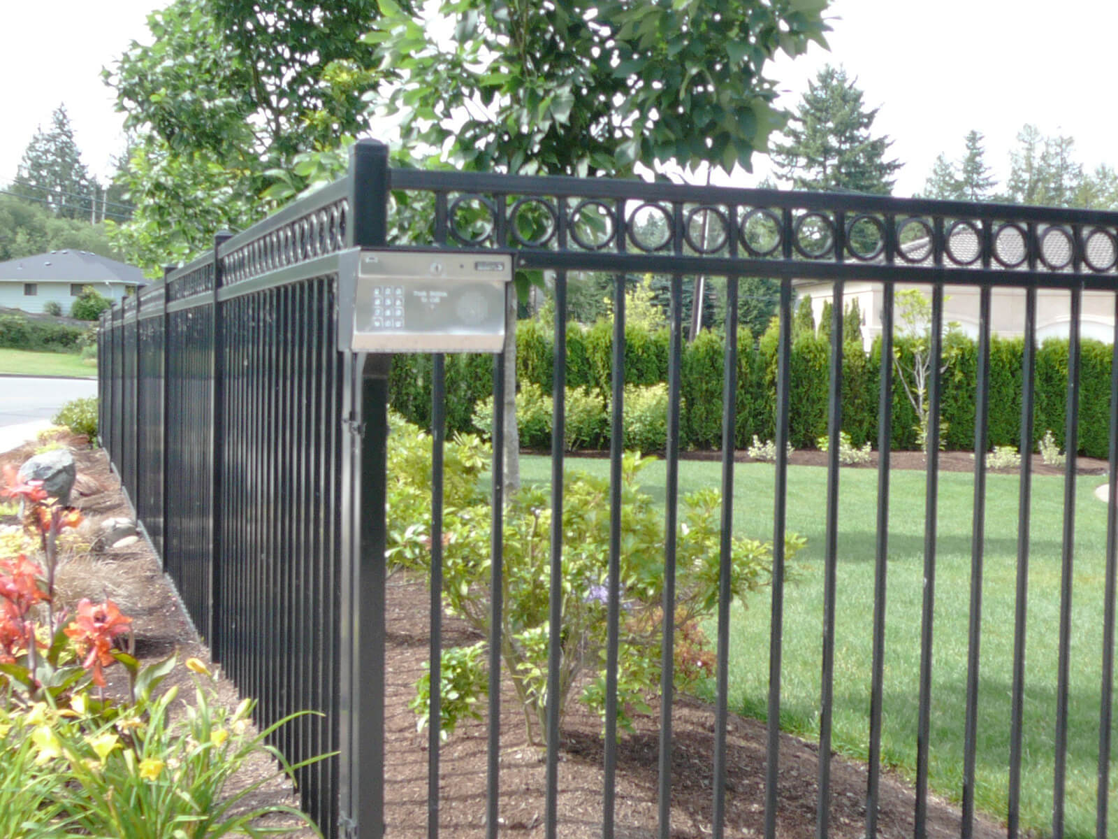 Check Out Our Ornamental Iron Fences
