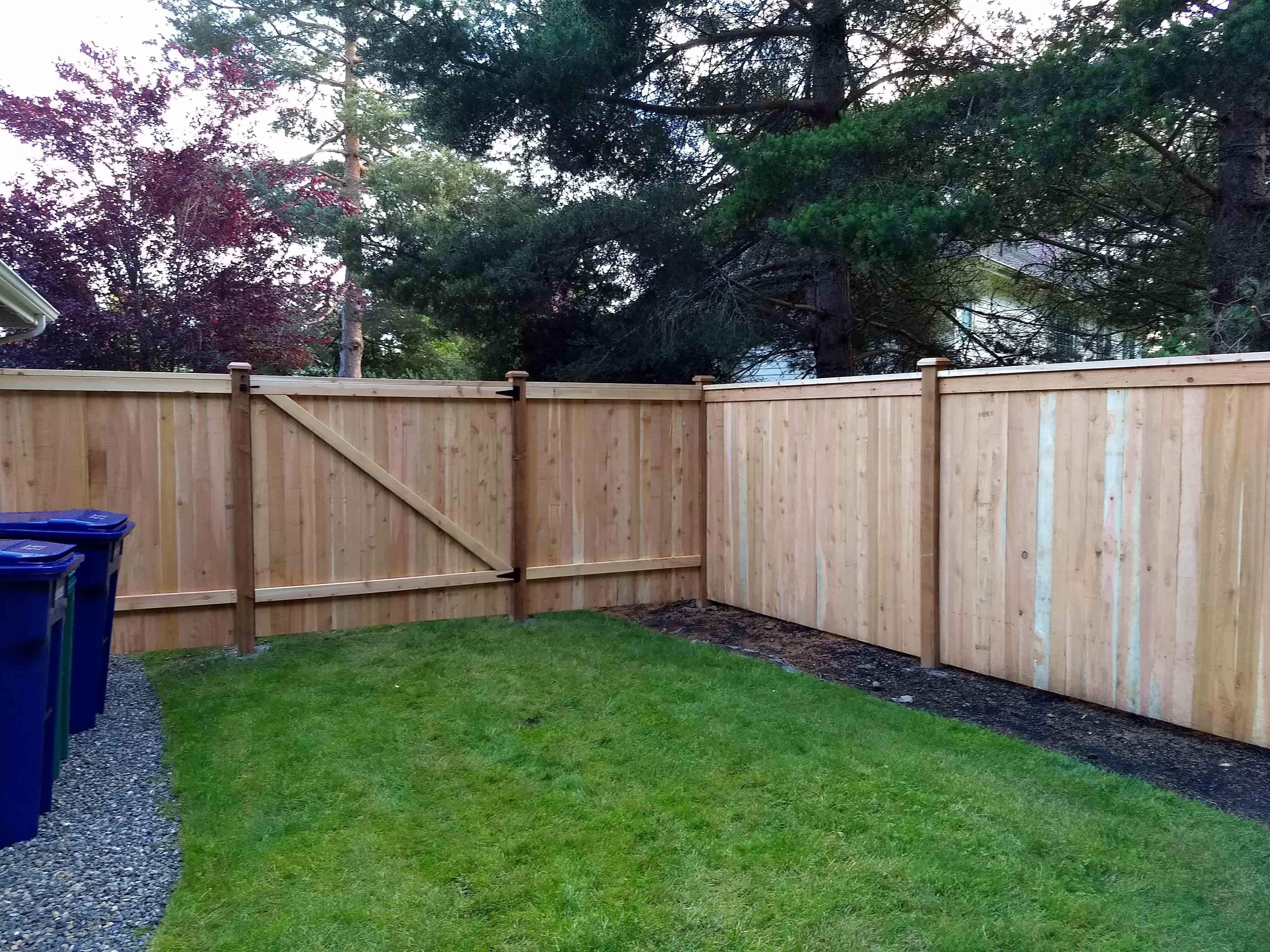 6 Mod Panel Fence, 1X4 Boards