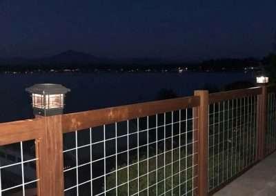 42 Inch Tall IPE Hog Panel Fence