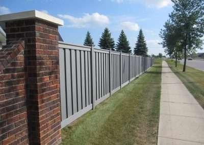 Winchester Grey_Perimeter Fence_HOA