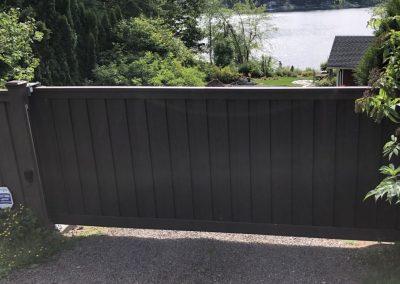Trex cantilever automatic sliding gate