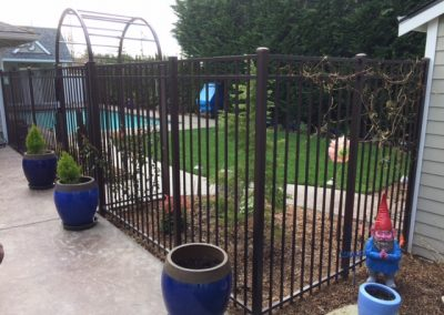 5' ornamental iron fence, Series A